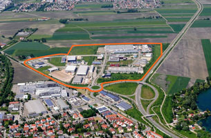 Business-Park Friedberger See